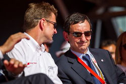 Pierre Fillon with Allan McNish