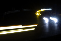 Porsche curves at night