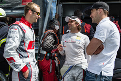 Christopher Haase, Markus Winkelhock and Laurens Vanthoor