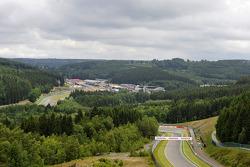 track impression, landscape