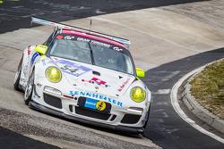#54 Porsche 997 Cup: Kim Hauschild, Dieter Svepes, Ric Shaw, Stephen Borness