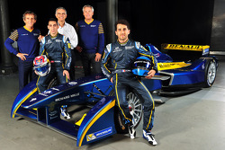 FORMULA-E: Sebastien Buemi and Nicolas Prost announced as eDams drivers