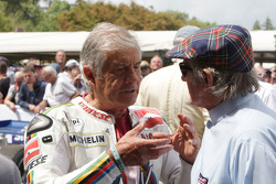 Giacomo Agostini y Jackie Stewart