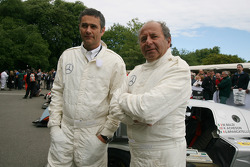 Karl Wendlinger and Klaus Ludwig