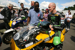 Sammy Miller, Scott Redding and Bradley Smith