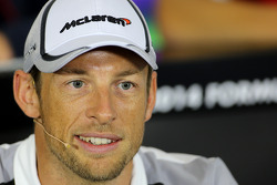 F1: Jenson Button, McLaren F1 Team during the press conference