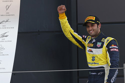 GP2: Race winner Felipe Nasr
