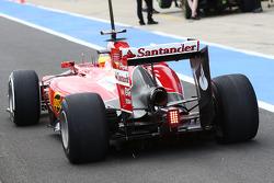 Pedro de la Rosa, Ferrari F14-T Development Driver