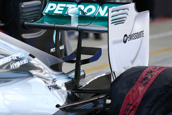 F1: Mercedes AMG F1 W05 rear wing detail