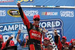 NASCAR-CUP: Brad Keselowski celebrates