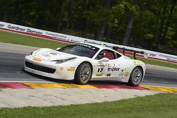 #17 Ferrari of Beverly Hills Ferrari 458: Patrick Byrne