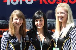 Promotional girls