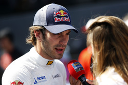 Jean-Eric Vergne, Scuderia Toro Rosso with the media