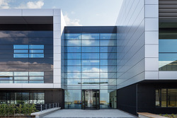 AUTOMOTIVE: The Porsche development centre in Weissach