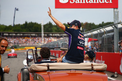 F1: Sebastian Vettel, Red Bull Racing on the drivers parade
