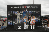 Podium: winner Darren McNamara, second p