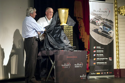 The new 24 Hours of Spa trophy is unveiled