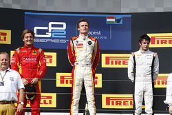 Arthur Pic, Stefano Coletti and Adrian Quaife-Hobbs
