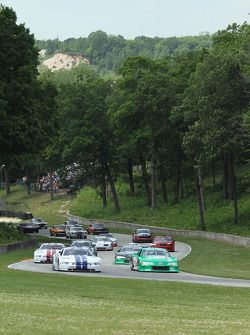 The 50th Anniversary All Mustang race