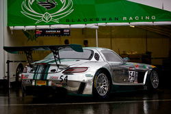 #54 Black Swan Racing Mercedes-Benz AMG SLS GT3: Tim Pappas