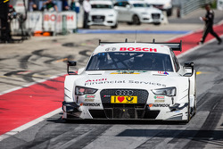 Drive-through for Nico Müller, Audi Sport Team Rosberg Audi RS 5 DTM