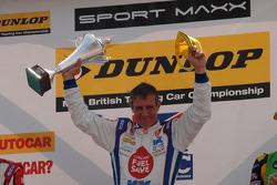 Race winner Jason Plato