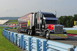 Hauler of Jeff Gordon, Hendrick Motorsports Chevrolet