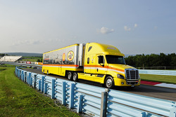 Hauler of Joey Logano, Team Penske Ford