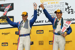Race winners Joao Barbosa and Christian Fittipaldi