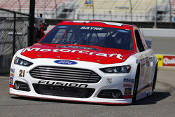 NASCAR-CUP: Trevor Bayne, Wood Brothers Racing Ford