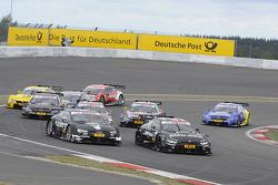 Bruno Spengler, BMW Team Schnitzer, BMW M4 DTM Adrien Tambay, Audi Sport Team Abt, Audi RS 5 DTM