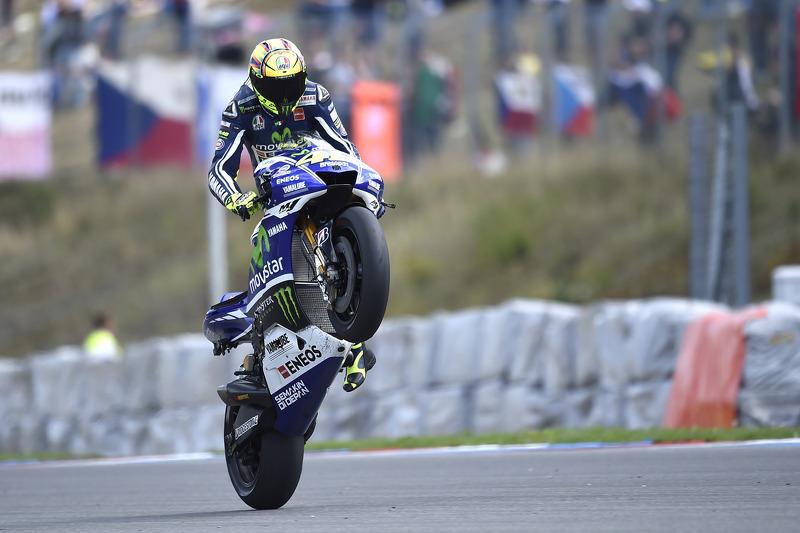 Valentino Rossi, Yamaha Factory Racing at Czech GP