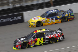 David Ragan, Bob Jenkins Ford and Jeff Gordon, Hendrick Motorsports Chevrolet