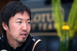 Ayao Komatsu, Race engineer, Lotus F1 Team