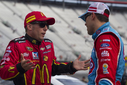 Jamie McMurray and Aric Almirola