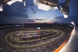 Racing under the lights at Bristol