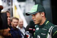 Andre Lotterer, Caterham F1 Team with the media