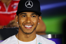 F1: Lewis Hamilton, Mercedes AMG F1 in the FIA Press Conference