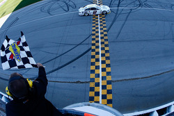 Brad Keselowski, Penske Racing Ford takes the win