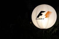 F1 Balloon in the paddock