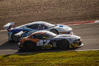 #12 TDS Racing BMW Z4: Henry Hassid, Nick Catsburg, #49 AF Corse Ferrari 458 Italia: Howard Blank, Jean-Marc Bachelier, Yannick Mallegol