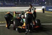 Nico Hulkenberg, Sahara Force India F1 VJM07 on the grid
