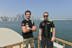 Tom Sykes and Sylvain Guintoli