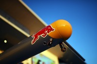 Red Bull pit area