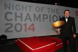 Blancpain Endurance Series-Gentlemen Trophy driver champion Peter Mann