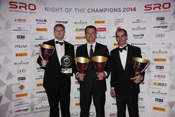 Blancpain Sprint Series-Grasser Racing Team Sascha Halek, Gottfried Grasser, Jeroen Bleekemolen