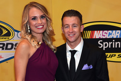 A.J. Allmendinger and girlfriend