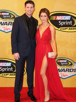 Denny Hamlin and his girlfriend Jordan Fish