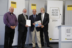Reinhard Klein, publisher, Thomas Burkhardt from ADAC, 