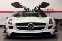 The new DragonSpeed Mercedes SLS AMG GT4